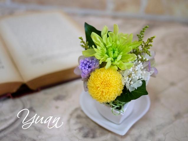 プリザーブドフラワー仏花