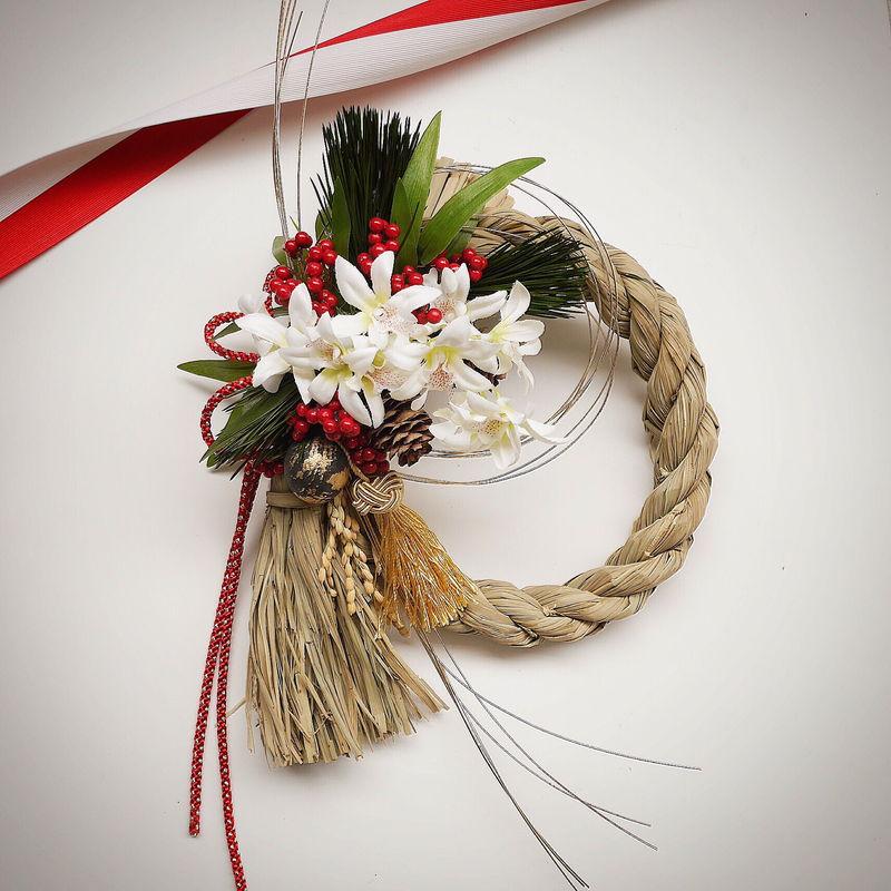 お正月のしめ縄飾り