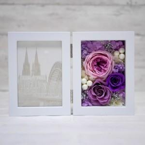 プリザーブドフラワー 紫