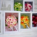 プリザーブドフラワー 花束 ブーケ フォトフレーム