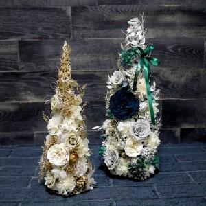 プリザーブドフラワー クリスマスツリー