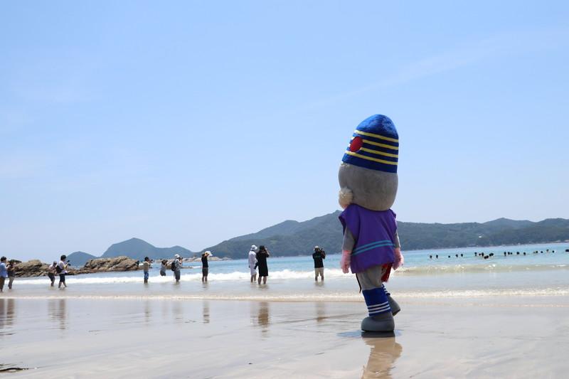 宮崎の海開き