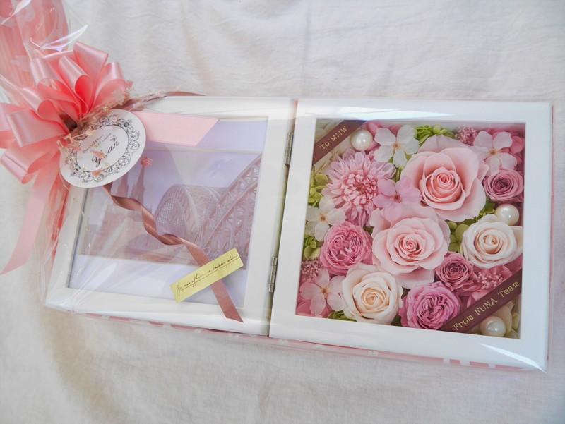 桜の写真立て