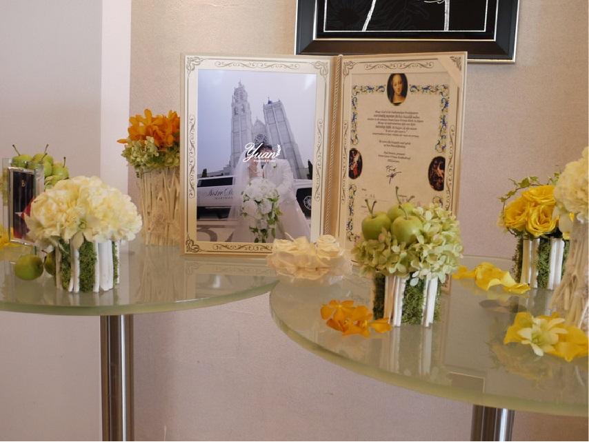 結婚式のウエルカムスペース