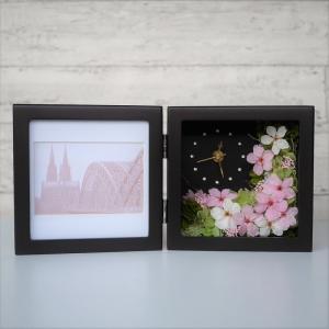 桜の花時計